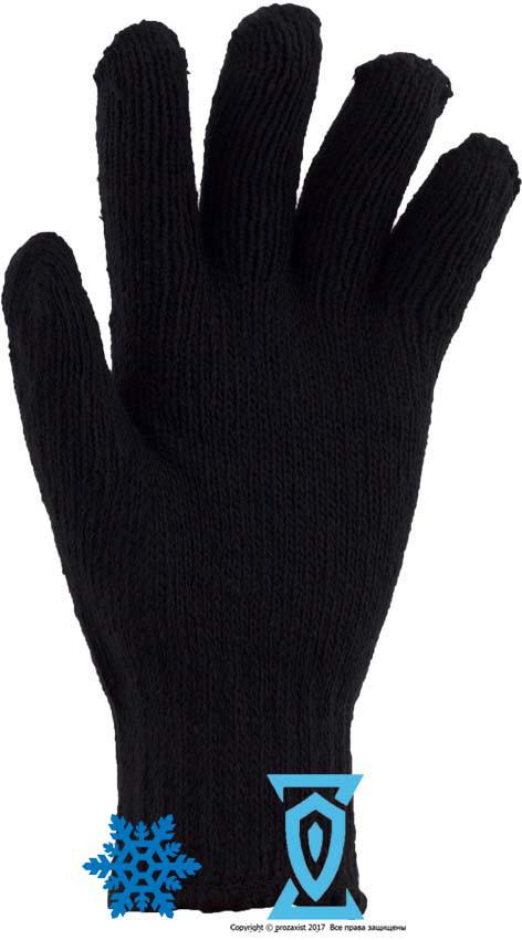 Перчатки теплые двойные (Украина)