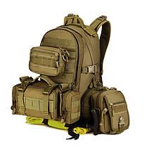 Рюкзак военный тактический штурмовой Molle Assault Protector Plus S416 35L Black, фото 3