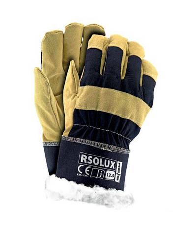 Перчатки рабочие теплые замшевые RSOLUX (Reis), фото 2