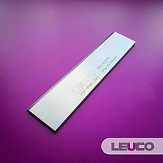 130х30х3 HSS 18% Стругальні (фугувальні) ножі Leuco для фуганків та рейсмусів
