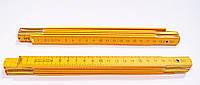 Метр складной деревянный 1м Top Tools 1134