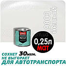 Дніпровська Вагонка Швидковисихаюча МЕТАЛ № 9003 Біла МАТ 20лт, фото 3