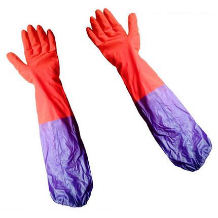 Перчатки рабочие латексные (зимние), фото 2