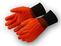 Перчатки рабочие теплые бензомаслостойкие Пламя