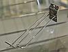 Крючок двойной с ценникодержателем хром. в экономпанель 20 см