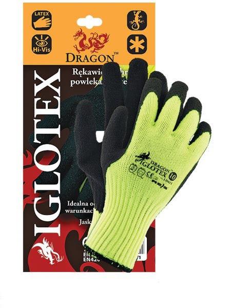Перчатки рабочие теплые покрытые вспененным латексом IGLOTEX (Reis)