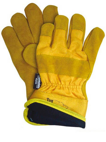 Перчатки рабочие теплые замшевые RWINEY (Reis), фото 2