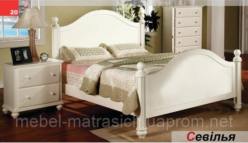 """Двуспальная кровать """"Севилья"""""""