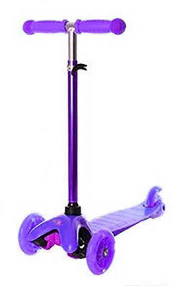 Трехколесный самокат iTrike Scooter BB 3-013-4-H Purple