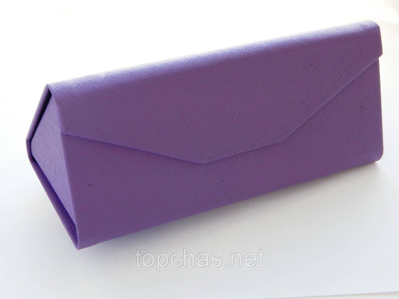 Компактный чехол-трансформер для очков, фиолетовый  - помещается даже в карман, фото 1