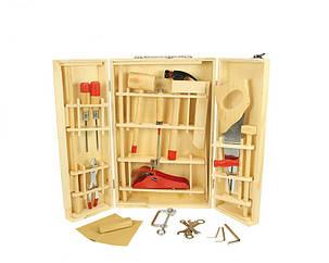 Чемоданчик с инструментами для мальчика Bigjigs Toys, фото 2