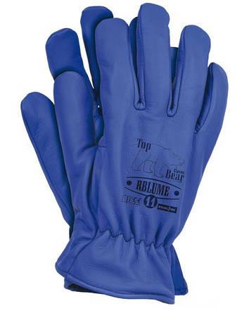 Перчатки теплые кожаные RBLUME (Reis), фото 2