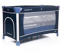 Кроватка-манеж 4Baby Moderno, цвет Navy, фото 1