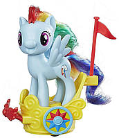 Игровой набор Hasbro My Little Pony Пони в карете Rainbow Dash (B9159_B9835)