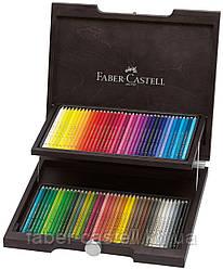 Карандаши художественные цветные Faber-Castell POLYCHROMOS 72 цвета в деревянном пенале , 110072