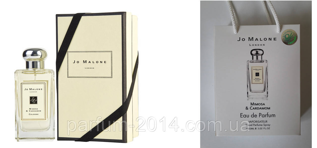 Тестер Jo Malone Mimosa And Cardamom 100мл + подарочный набор Jo Malone Mimosa And Cardamom 50 мл (реплика)