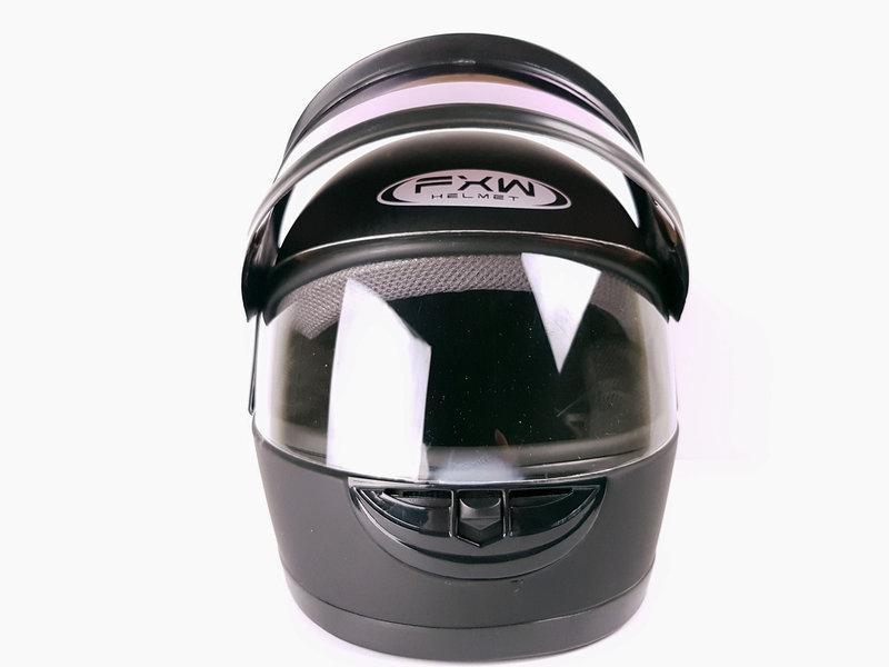 Шлемы для мотоциклов Hel-Met 101D черный мат с двумя стеклами