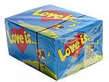 Блок жвачек Love is  яблоко - лимон, фото 5