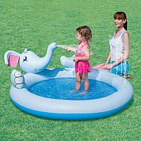 Детский надувной бассейн Bestway 53034B Слон (168х152х66), фото 1