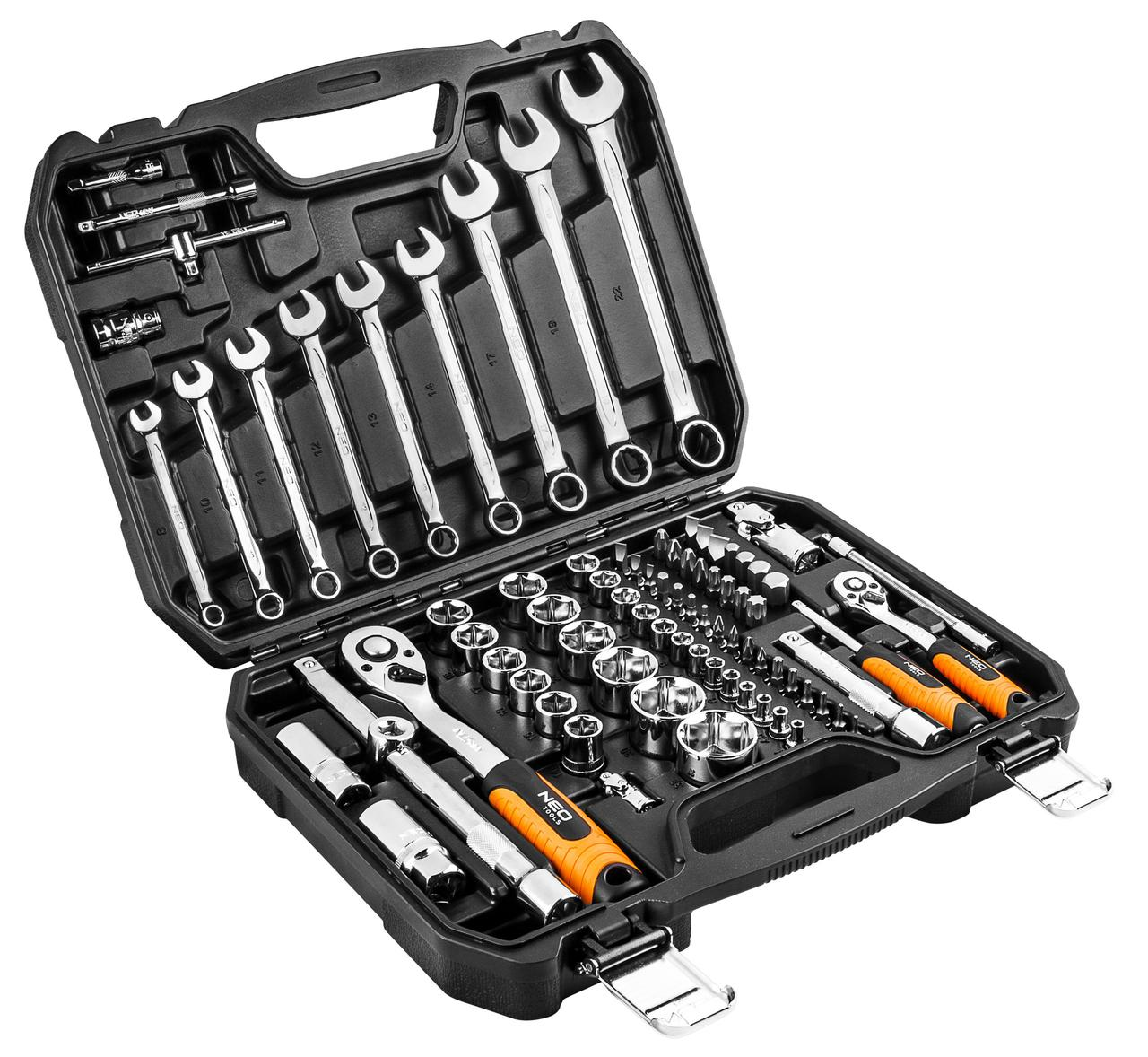 Набор инструментов NEO Tools, 82 элемента