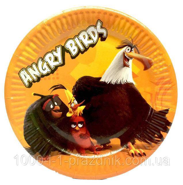 Тарелочки Angri Birds 10 шт