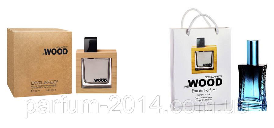 Dsquared2 he wood 100 ml + подарочный набор Dsquared2 he wood 50 ml (реплика), фото 2