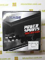 Аккумулятор KAGE KG12N9-3B-BS (12N9-3B) 9Ah 12 V 95A, 135х75х139 мм