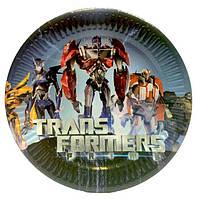 Тарелочки Трансформеры 10 шт