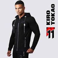 Kiro Tokao 156 | Мужская спортивная толстовка черная