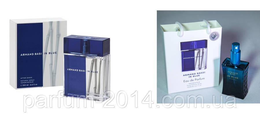 Armand Basi in Blue 100 ml + подарочный набор Armand Basi in Blue 50 ml (реплика), фото 2