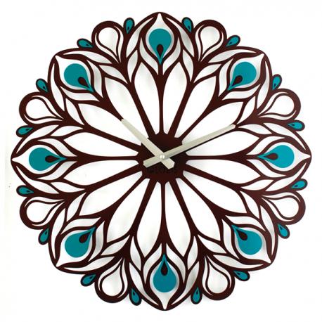 Оригинальные Настенные часы Peacock Feather. Акция: бесплатная доставка!