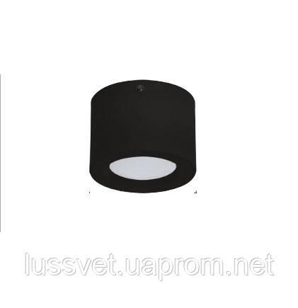 Светильник цилиндр накладной Horoz LED 5W черный