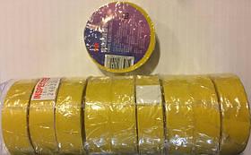 Изолента PVC 3M желтая