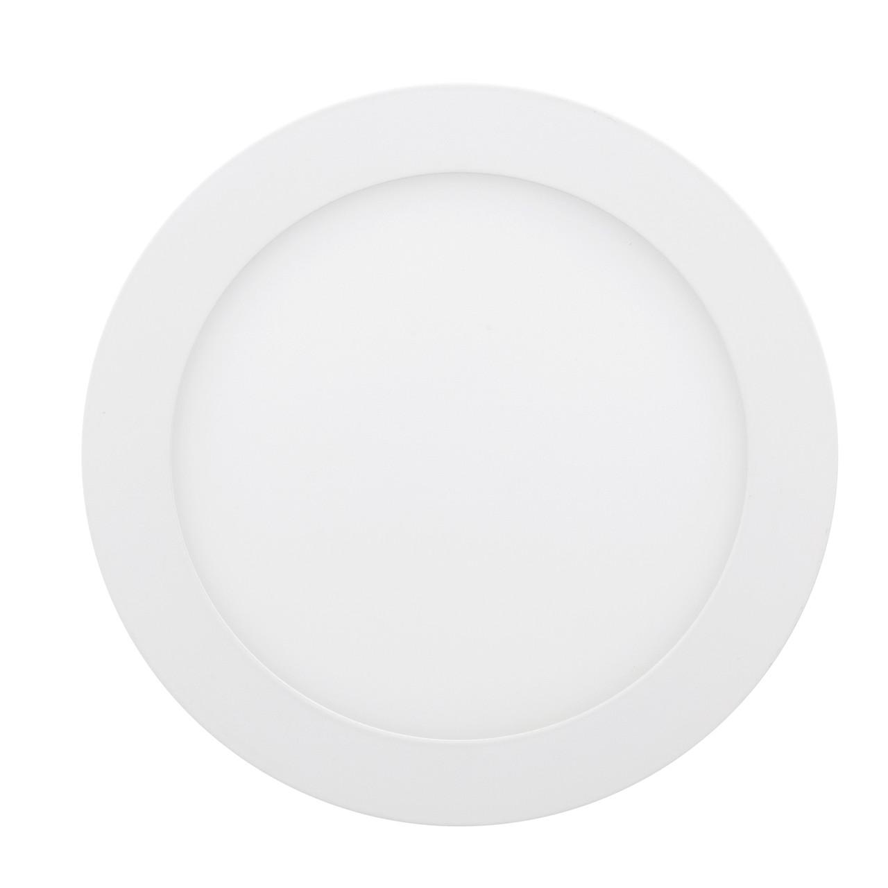 LED Downlight Евросвет 12Вт 6400К встраиваемый круг