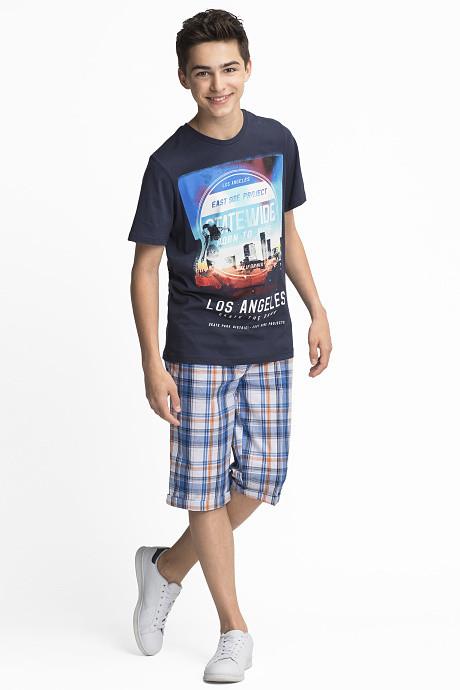 Подростковый набор футболка и шорты для мальчика C&A Германия Размер 134-140, 170-176
