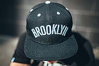 Снепбек черный Brooklyn