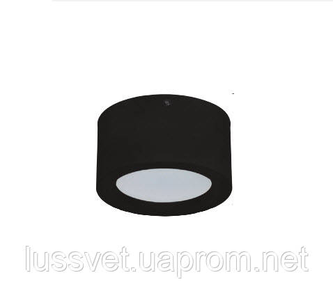 Світильник накладної циліндр Horoz LED 10W чорний