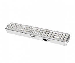 Аварийный светодиодный светильник DELUX REL-601 (3.7V2Ah) 60 LED 4W