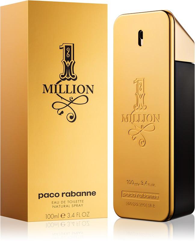 Парфюмированная вода Paco Rabanne 1 Million 100 ml реплика