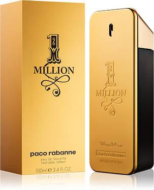 Парфюмированная вода Paco Rabanne 1 Million 100 ml реплика, фото 2
