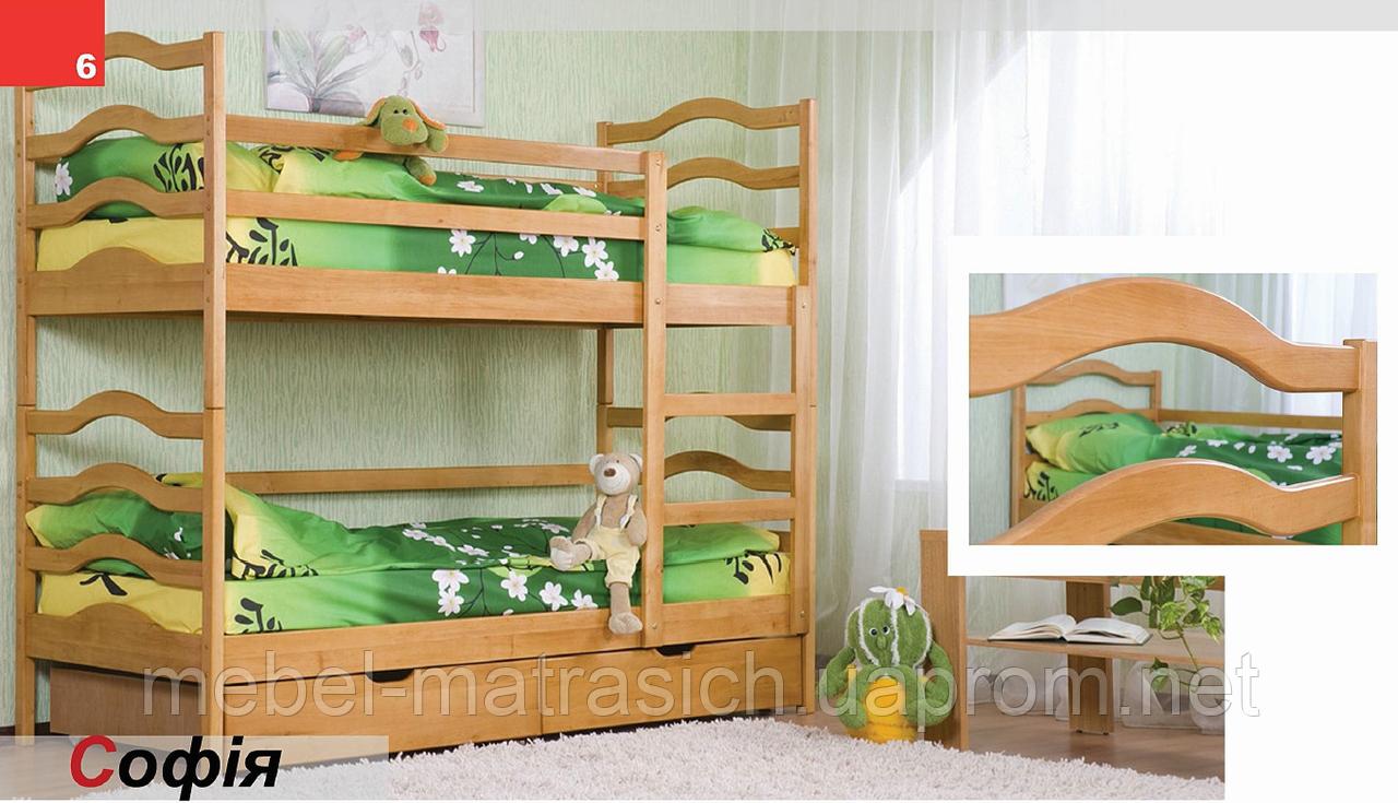 """Двоярусне ліжко """"Софія"""""""