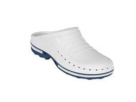 Обувь медицинская Wock, модель CLOG02 (сине - белые), по предоплате