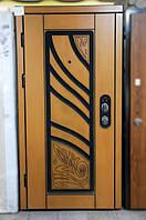 Вхідні двері Троя 0,95 L дуб золотий