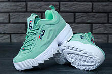 Дитячі та підліткові кросівки Fila Disruptor 2 Green