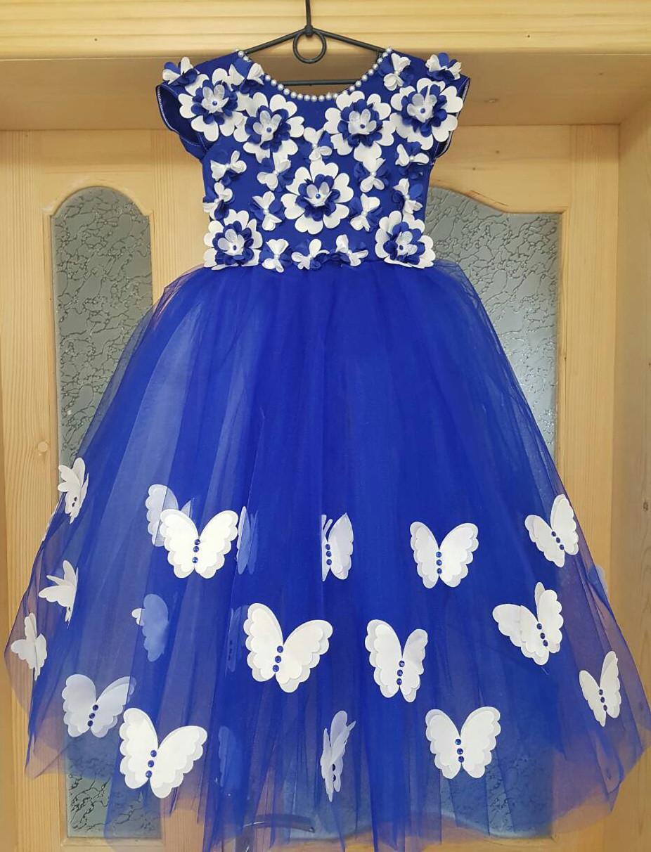 Дивовижна святкова дитяче плаття для справжньої принцеси.