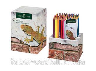 Лимитированный набор цветных карандашей Faber-Castell Polychromos 68 цветов в картонной коробке, 210050