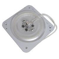 LED пластина (вставка) с магнитом одинарная 12W