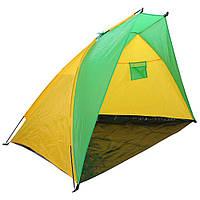 AMF Палатка Пляжная BT002 жёлто-зеленый