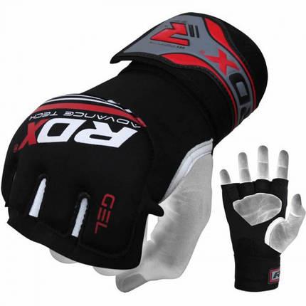Бинт-перчатка RDX Neopren Gel Red S/M, фото 2