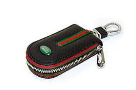 Ключница Carss с логотипом LAND ROVER 15007 черная